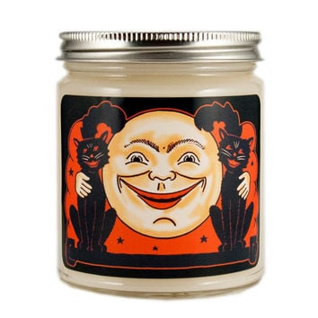 Vintage Halloween Candle, Custom Scented Candle, Vintage Candle, Container Candle, Soy Candle, Halloween Candle