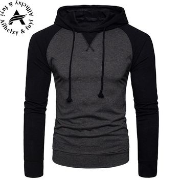 New 2018 Plain Mens Zip Up Hoody Jacket Sweatshirt Hooded Zipper male Top Outerwear Black Gray Boutique men Free shipping