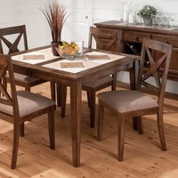 Jofran Dining Room Nova Side Chair With Upholstered Seat (RTA 2/Ctn) 794-221KD
