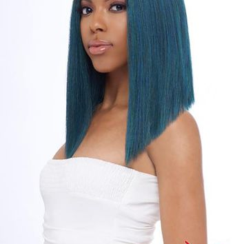 LACE FRONT WIG, SWISS DEEP PART LACE CLEO-STRAIGHT  (LSD08)