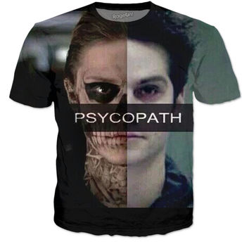 Tate and Stiles Psychopath T-Shirt
