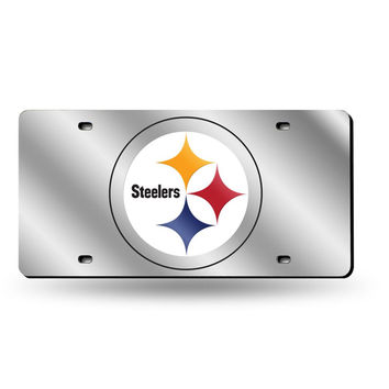 Pittsburgh Steelers NFL Laser Cut License Plate Tag