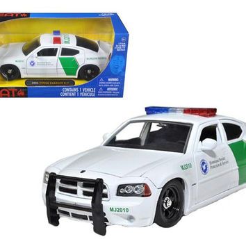 2006 Dodge Charger R-T Border Patrol Car 1-24 Diecast Model by Jada