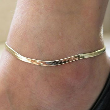 Chain Ankle Adjustable Charm Anklet Leg Bracelet
