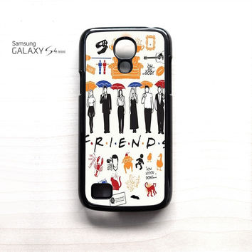 Friends TV Show Collage for Samsung Galaxy Mini S3/S4/S5 phone case