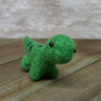 Dinosaur, Dinosaur Decor, Needle Felt Dinosaur, Wool Dino, Cubile Decor, Felt Dino, Mini Dinosaur, Dino Sculpture, Soft Dinosaur Sculpture
