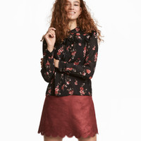 H&M Blouse with Ties $19.99