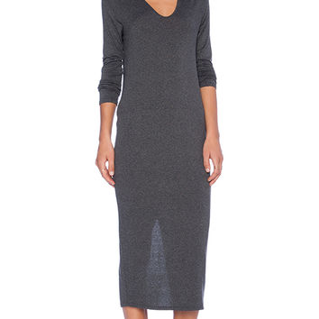 Riller & Fount Francesco Dress in Charcoal