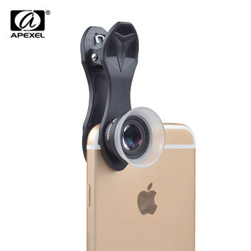 Professional 12X/24X Macro lens Mobile Phone Camera Lens Super Macro for iPhone 6 6plus 5S Xiaomi Samsung Galaxy S7 Note 5 24XM