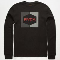 Rvca Invert Hex Mens Thermal Black  In Sizes