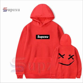 Lil peep funny hoodies 2018 lil peep printed sweatshirts plus sizes for men casual fleece streetwear hoodies cry baby lil peep