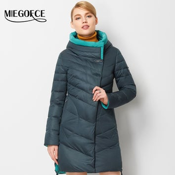 MIEGOFCE 2016 New Winter Collection Winter Women Coat Jacket Warm High Quality  Woman Down Parka  Winter Coat