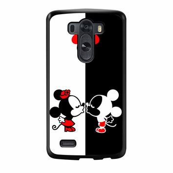 Mickey And Minie Mouse Kissing LG G3 Case