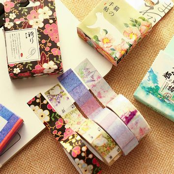 2 Pcs/lot Misstime Paper Masking Tapes Japanese Washi Tape Diy Scrapbooking Sticker Friendship Stationery School Supplies