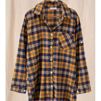 Just Me And You Plaid Tunic