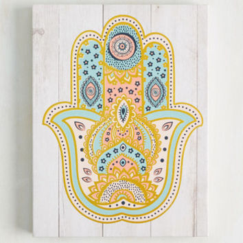 This Is the Van Life Wall Decor in Hamsa