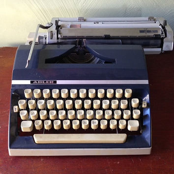 Adler J5 Manual West German Typewriter