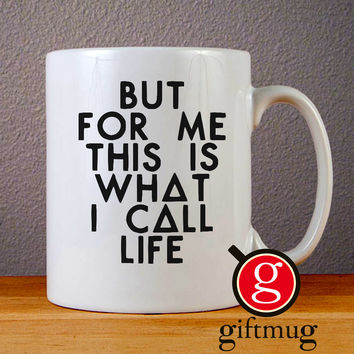 Bastille Lyric Ceramic Coffee Mugs