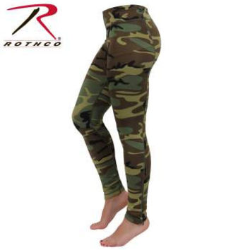 Womens Camo Performance Leggings