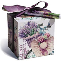Lavender Allure Paper Note Block and Pen