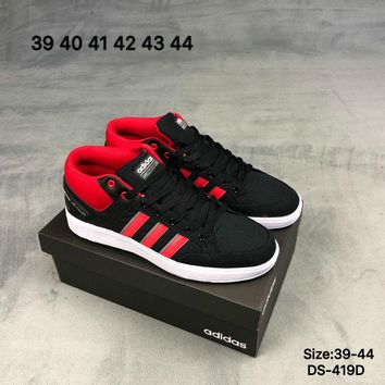 Adidas Original Men Women CF ALL COURT MID School Style Fashion Casual Skate shoes Black