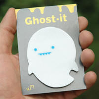 Ghost See through sticky memo notes 40 sheets