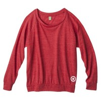 Women's Jersey Slouchy Red Pullover