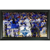 Kansas City Royals 2015 World Series Champions Celebration Signature Field