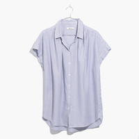 Central Shirt in Benton Stripe : shopmadewell button-up & popover shirts | Madewell