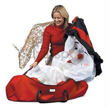 Christmas Storage Bag - Pack And Store All Types Of Decorations This Holiday Season With This Red Heavy Duty Storage Bag
