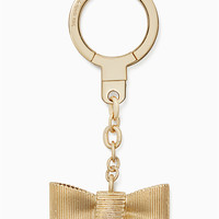 all wrapped up bow keychain | Kate Spade New York