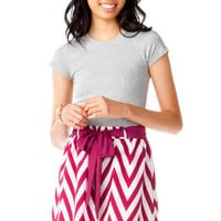 KENTENIA CHEVRON SKIRT