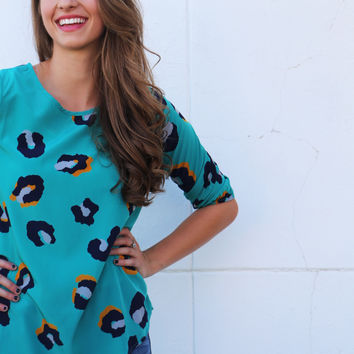 Crazy For Leopard Tunic