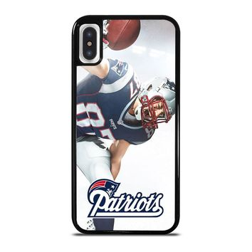 ROB GRONKOWSKI NEW ENGLAND PATRIOTS iPod Touch 6 iPhone X / XS case