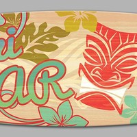 Tiki Bar Surfboard Sign (8550) - Illuminada