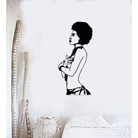 Vinyl Wall Decal African Beauty Sexy Woman Art Living Room Stickers Mural (g200)
