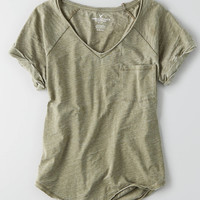 AEO Pocket T-Shirt, Olive