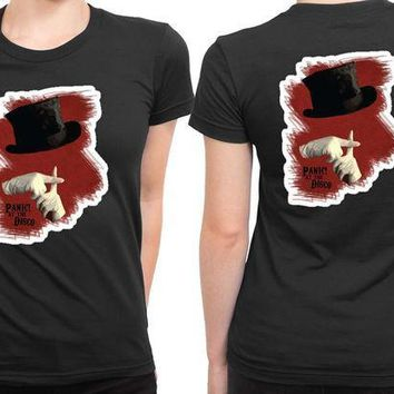 ICIKL83 Panic At The Disco Fan Art 2 Sided Womens T Shirt