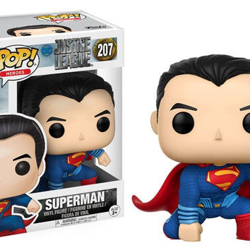 POP! MOVIES: DC - JUSTICE LEAGUE - SUPERMAN (PRE-ORDER)