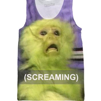 Screaming Monkey Tank Top