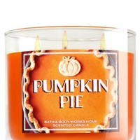 3-Wick Candle Pumpkin Pie
