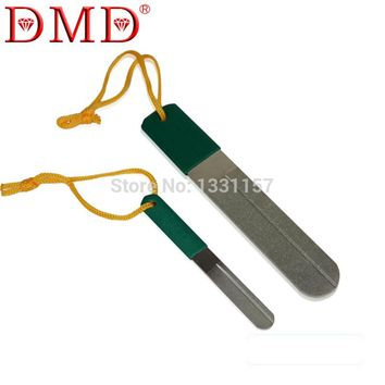 DMD Outdoor Diamond Coated Knives Fish Hook Sharpening Sharpener 4 And 6 Inch Free Shipping