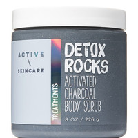 Signature CollectionDETOX ROCKSActivated Charcoal Body Scrub