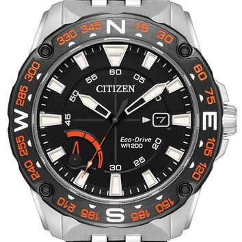 Citizen Eco-Drive Stainless Steel Watch AW7048-51E