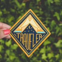 Out to Live Glow in the Dark Embroidered Patch