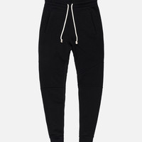 Loopwheel Escobar Sweatpants / Black