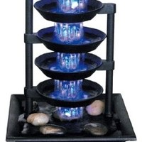 Five Tier Illuminated Fountain:Amazon:Toys & Games