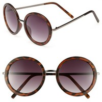 Junior Women's Fantas Eyes Round 51mm Sunglasses