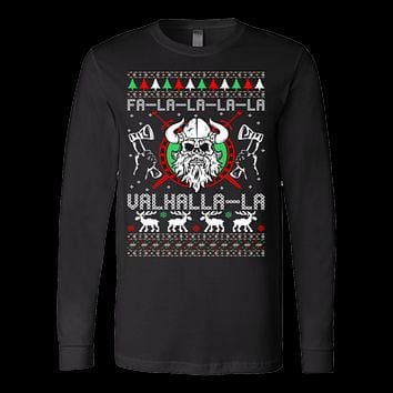 Falalala valhalla la ugly christmas sweater