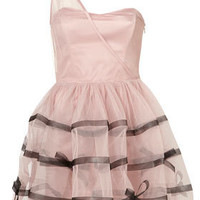 Tape and Bow Skirt Prom Dress by Dress Up Topshop** - Dresses  - Clothing  - Topshop